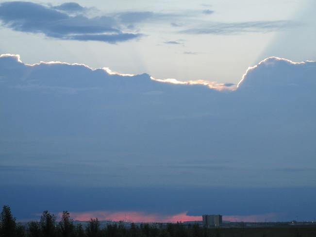 Wall of Cloud Calgary, Alberta Canada