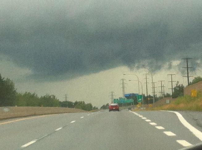 Severe T-Storm Watch Fredericton, New Brunswick Canada