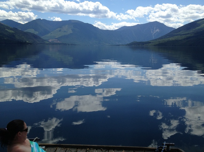 gorgeous fishing conditions... Nakusp, British Columbia Canada