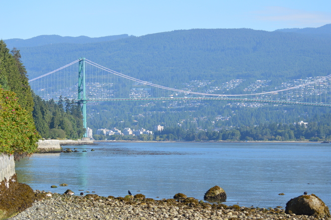 A View From Stanley Park Vancouver, British Columbia Canada