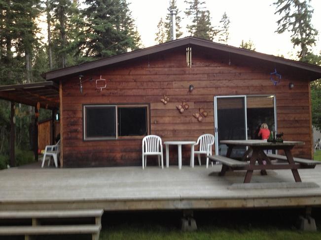 Cabin at Emma Lake:) Okema Beach, Saskatchewan Canada