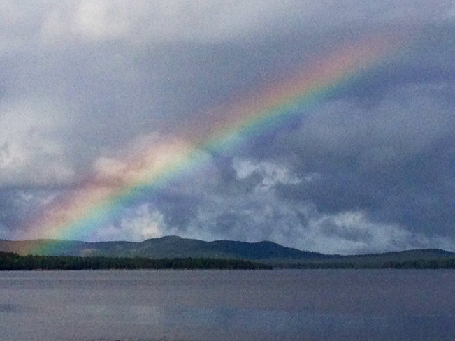 follow the rainbow Botwood, Newfoundland and Labrador Canada