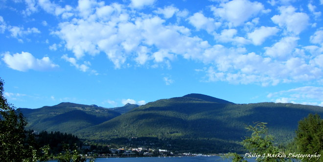 Morning Clouds over Nelson Nelson, British Columbia Canada