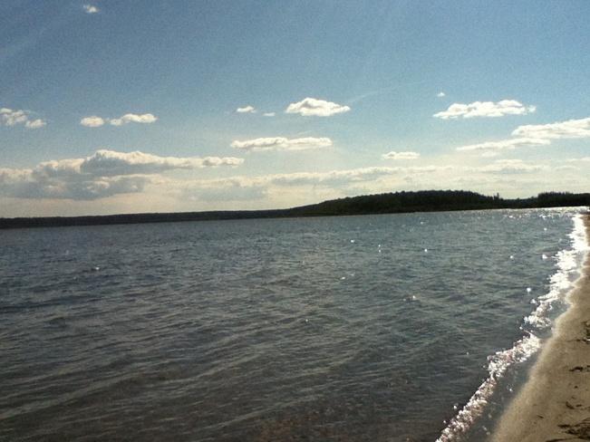 nice day Lac La Biche, Alberta Canada