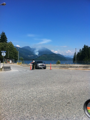 stave lake forest fire Mission, British Columbia Canada