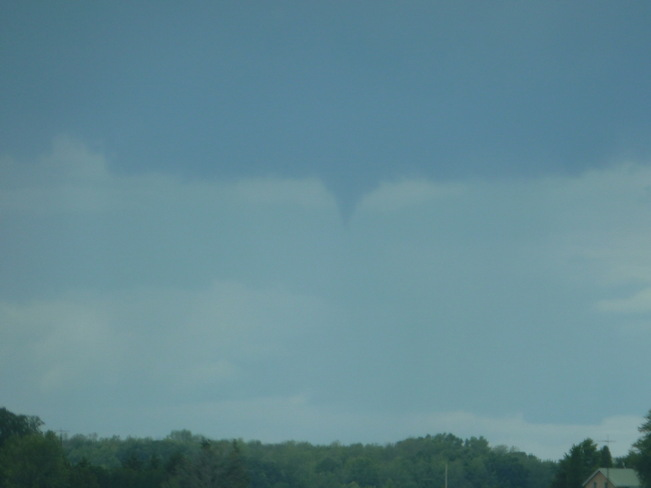 Cold Air Funnel Grand Bend, Ontario Canada