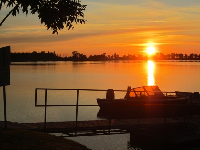 Early morning ride Fort Frances, Ontario Canada