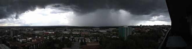 There's a storm brewing! Hull, Quebec Canada