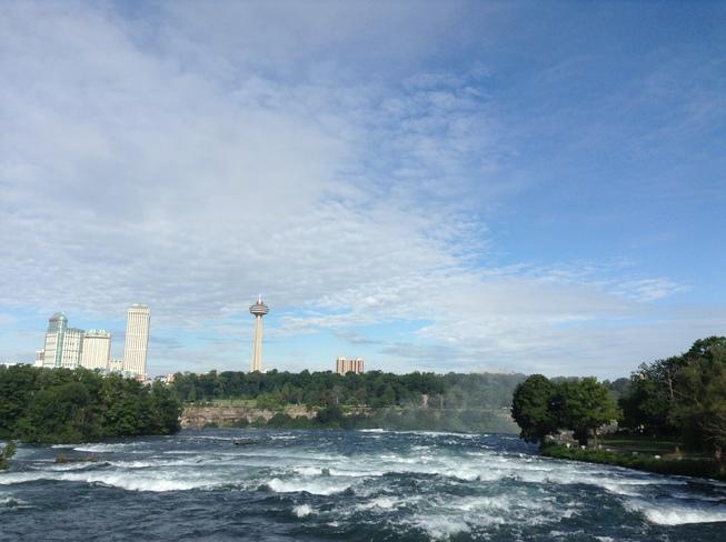 Upper rapids Niagara Falls Niagara Falls, New York United States