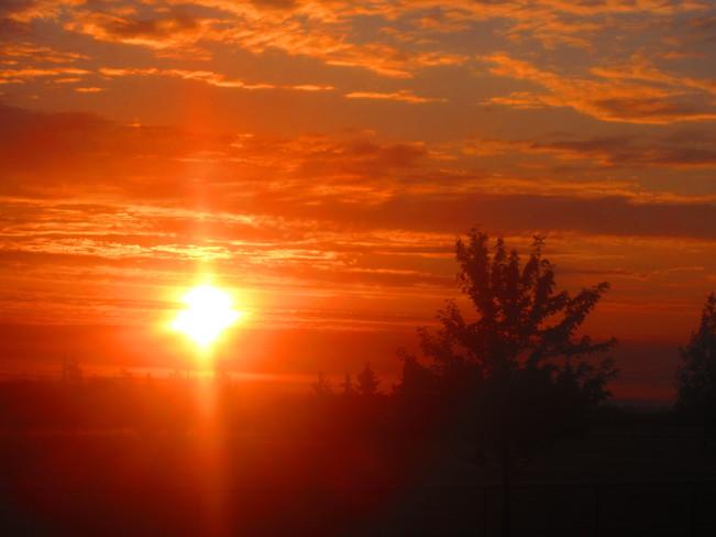 Morning sunrise Sault Ste. Marie, Ontario Canada