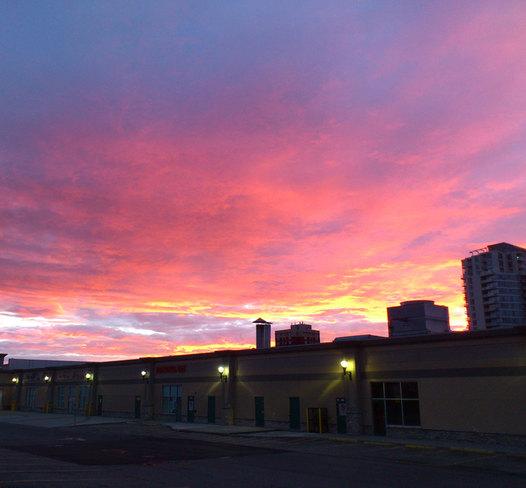 Early Morning Shot Calgary, Alberta Canada