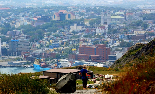 View from Signal Hill Mount Pearl, Newfoundland and Labrador Canada