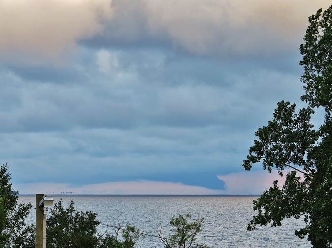 What's that poking out of the clouds? North Bay, Ontario Canada