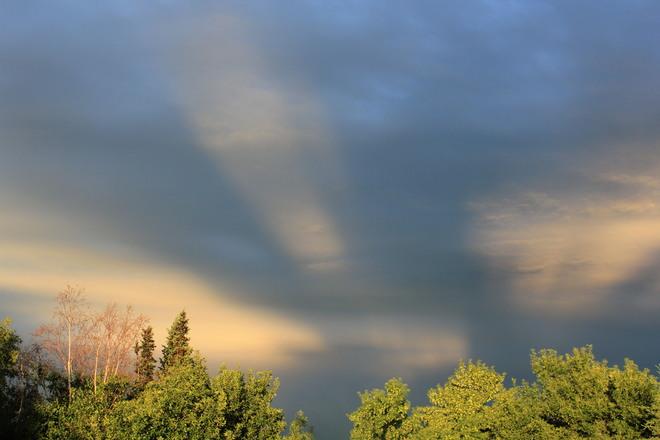 Awesome clouds Grande Prairie, Alberta Canada