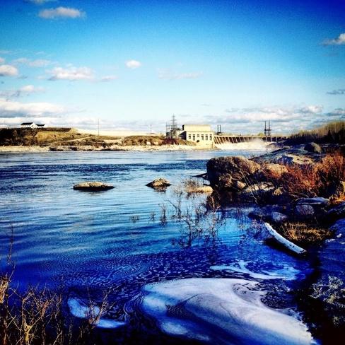 mattagami river Smooth Rock Falls, Ontario Canada