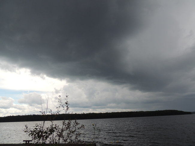 here it comes Red Lake, Ontario Canada