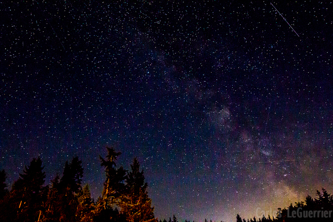 Milky Way Armstrong, British Columbia Canada