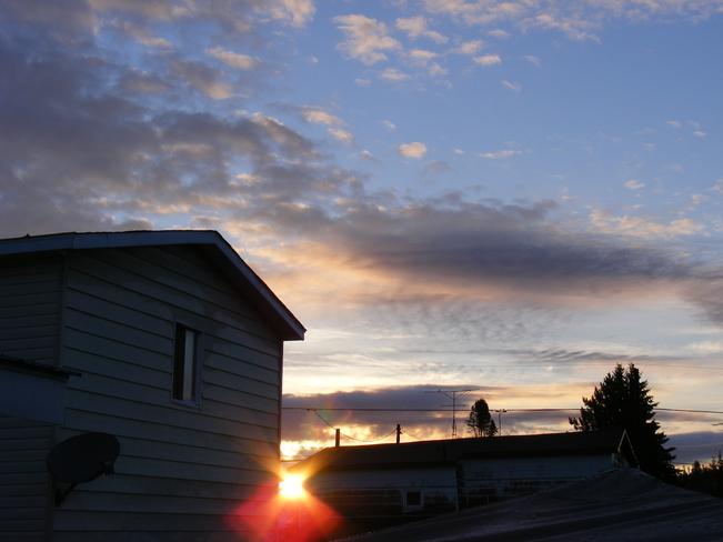 sunrise Cobalt, Ontario Canada
