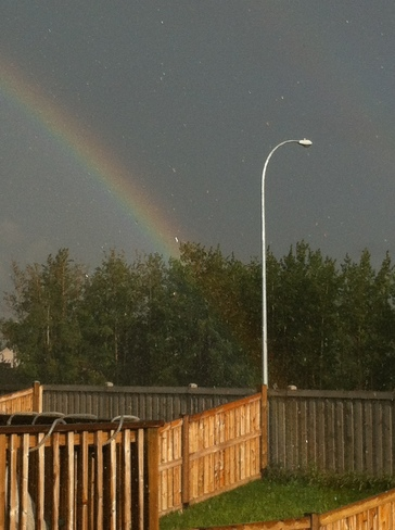 Proof there's no pot of gold at the end of the rainbow Grande Prairie, Alberta Canada