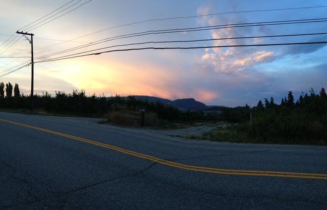amazing storm to hit Kelowna, British Columbia Canada