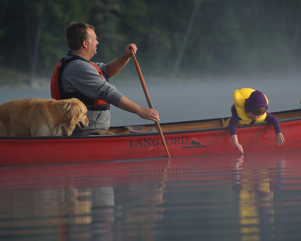 Morning Paddle West Guilford, Ontario Canada