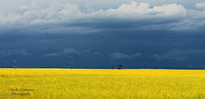 Land of the living skies Shaunavon, Saskatchewan Canada