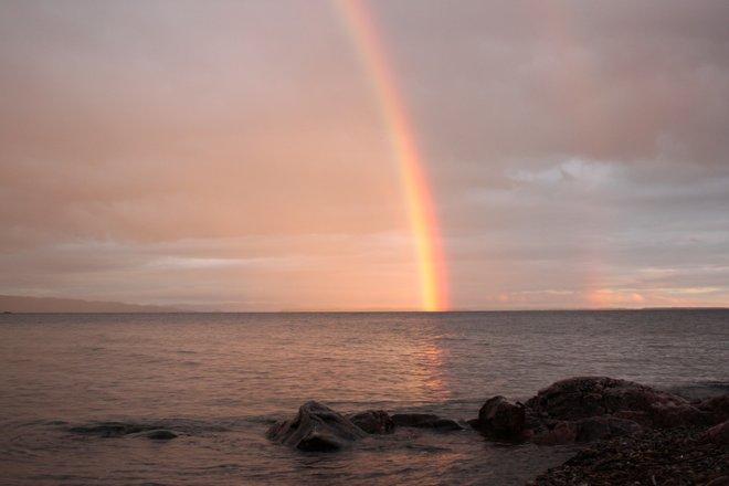 Rainbow Agawa Bay, Ontario Canada