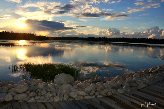 Magical Sunset Gander, Newfoundland and Labrador Canada