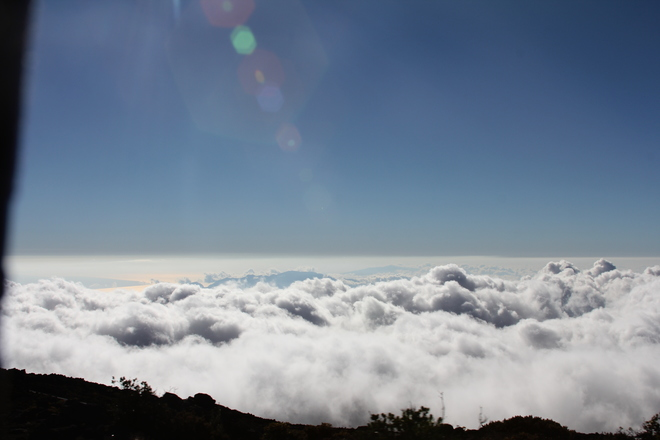Above the Clouds on Top of Kanapali Kihei, Hawaii United States