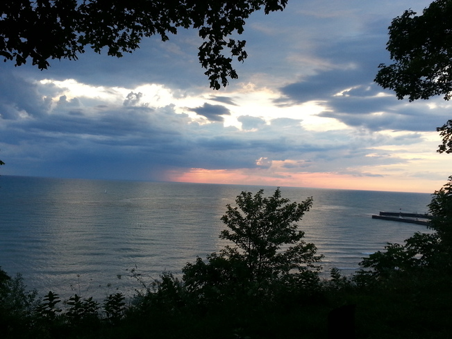 Calm before the storm Bayfield, Ontario Canada
