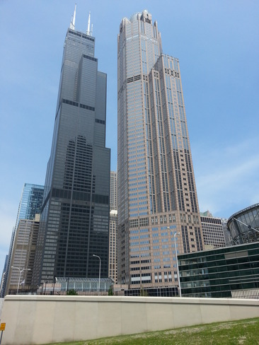 Willis Tower (formerly named Sears Tower) Chicago, Illinois United States