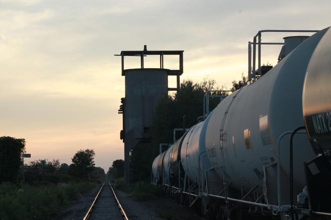 railway tankers Aylmer, Ontario Canada