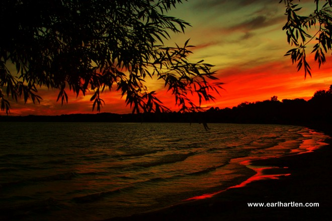 Port Dover's World Famous Sunsets Port Dover, Ontario Canada