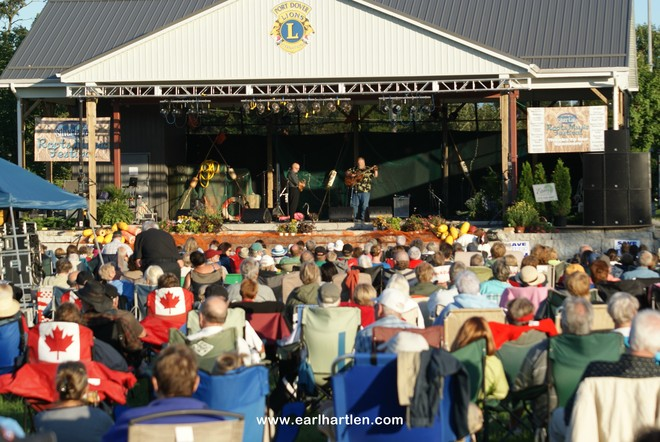 Lions Club Roots Music Festival Port Dover, Ontario Canada