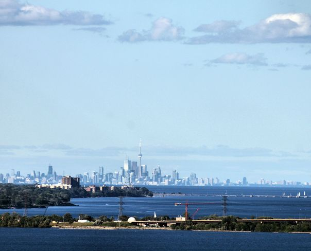 On a clear day you can see .... Toronto Hamilton, Ontario Canada