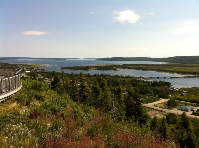 Gambo from Joey's lookout Gambo, Newfoundland and Labrador Canada