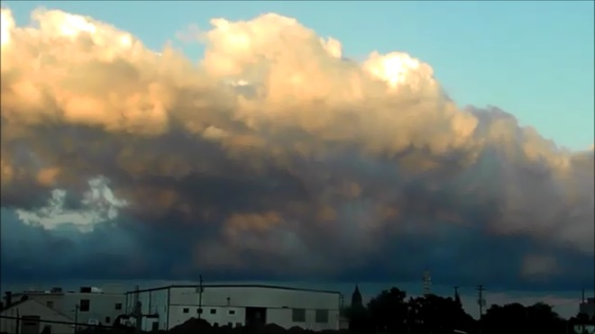 Roaring Clouds in Moncton Moncton, New Brunswick Canada