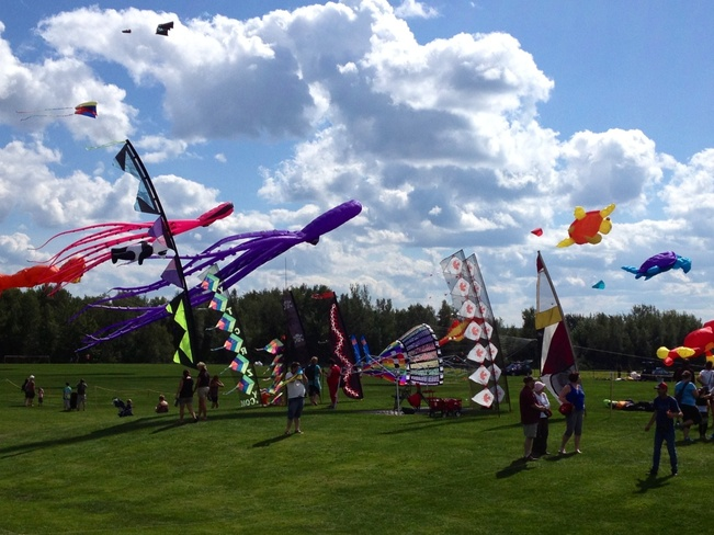 Int'n Kite Festival!! Dieppe, New Brunswick Canada