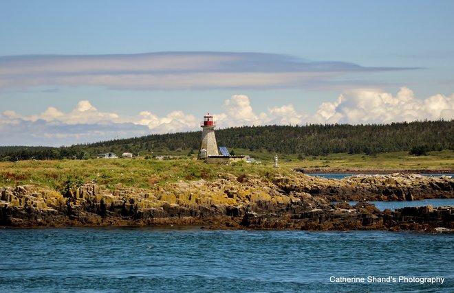 Brier Island Lighthouse Digby, Nova Scotia Canada