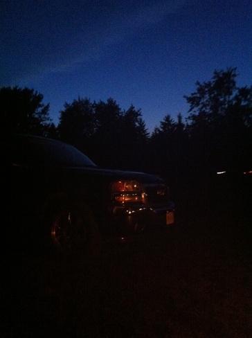 night sky Fergus, Ontario Canada