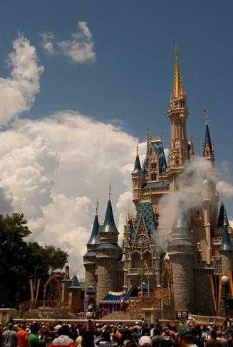 Le château dans les nuages Orlando, Floride États-Unis