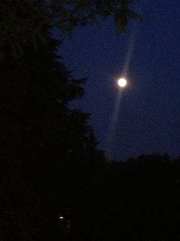 Moon Light Hamilton, Ontario Canada