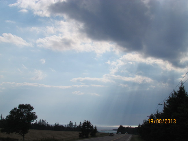 Rain on the Horizon Charlottetown, Prince Edward Island Canada