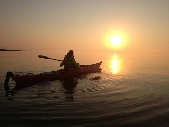 Sunrise Kayak Thunder Bay, Ontario Canada