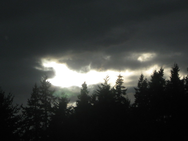 light in the middle Surrey, British Columbia Canada
