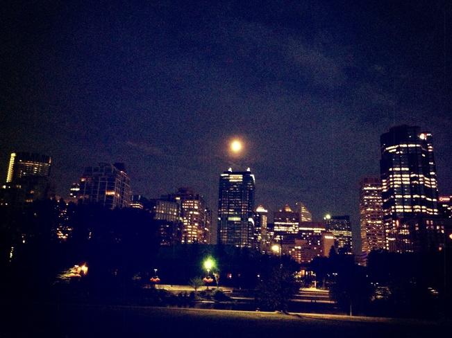 Night Calgary, Alberta Canada