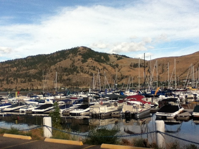 okanagan lake marina South Vernon, British Columbia Canada