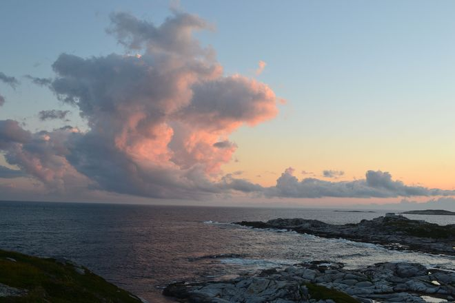 Clouds during sunset Rose Blanche-Harbour Le Cou, Newfoundland and Labrador Canada