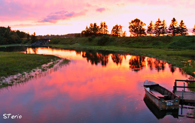 After the thunderstorm Caraquet, New Brunswick Canada