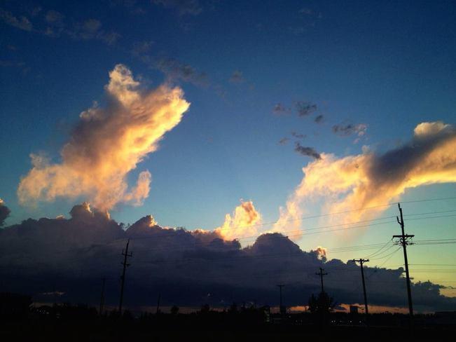 Pretty Clouds Portage La Prairie, Manitoba Canada